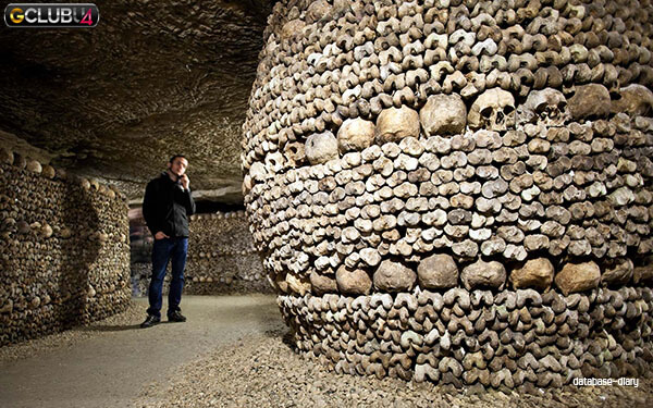 Visits Catacombs of Paris
